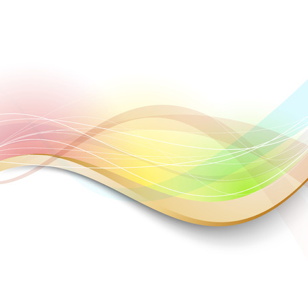 Modern bright transparent colorful background. Vector illustration Vector