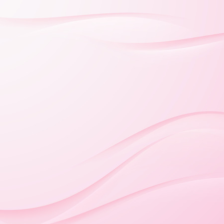 pink satin: Transparent pink abstract swoosh line background. Vector illustration