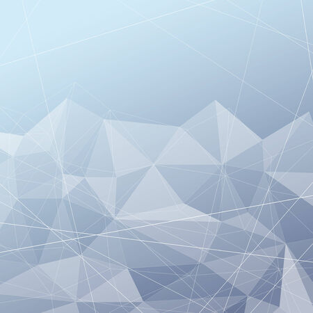 structured: Crystal structured modern blue background. Vector illustration