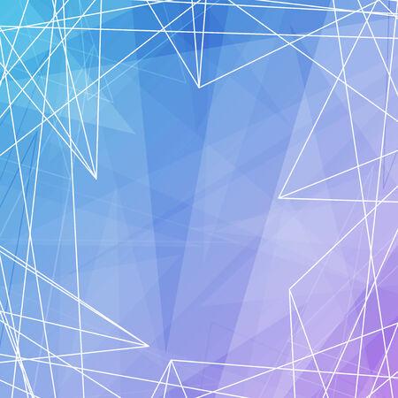 white lines: Sfondo trasparente con linee bianche. Illustrazione vettoriale