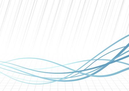 Technologie schnelle blaue Linien Hintergrund.