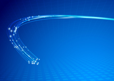 Kabel impuls abstracte achtergrond sjabloon.