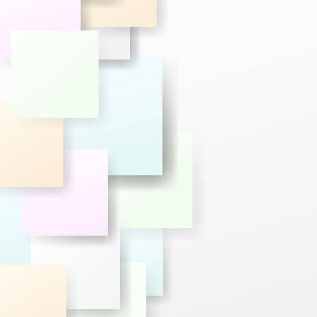 calm background: Calm semitone halftone squares background. Vector illustration