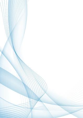 Moderne blaue Zertifikat abstrakten Hintergrund Vorlage. Vektor-Illustration