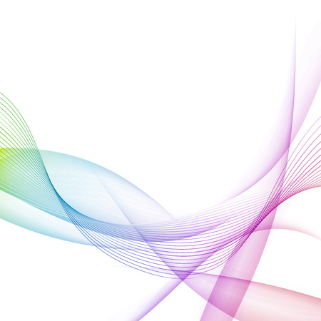 Modernistic bright colorful lines halftone motion background. Vector illustration Illustration
