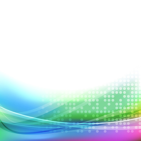 footer: Abstract bright colorful swoosh lines disco party transparent background