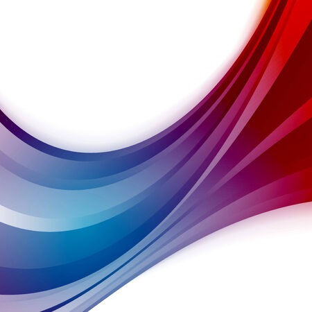 Abstract wave blue swoosh certificate background Vector