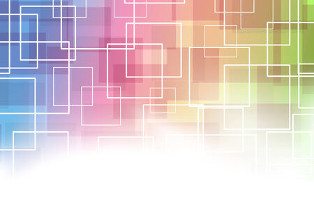 modernistic: Modernistic square tiles and lines colorful bright abstraction template