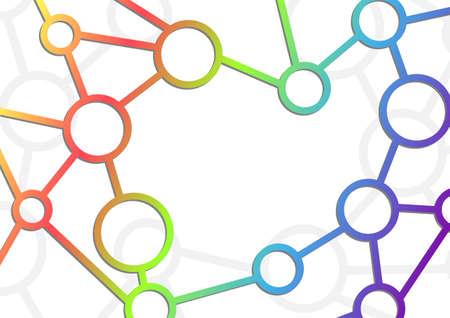 intricacy: Atom intricacy communication background