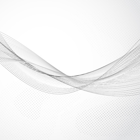 Modern abstract swoosh lines flow Vector