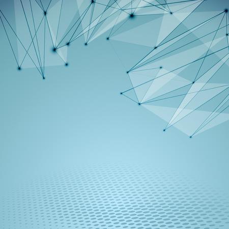 conectividad: Conectividad tela abstracta de alta tecnolog�a antecedentes