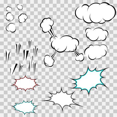 expression chat sale pop-art bubbles Illustration