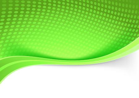 divided: Green border transparent circle pattern background. Vector illustration Illustration