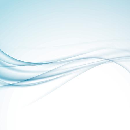 Halftone swoosh border abstract modern background - abstract wave border. Vector illustration Illustration