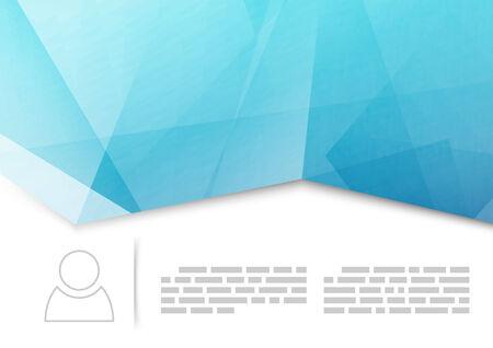 Modern crease brochure or booklet template  Vector