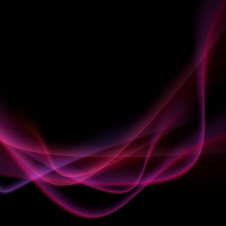 Bright neon swoosh speed wave background.