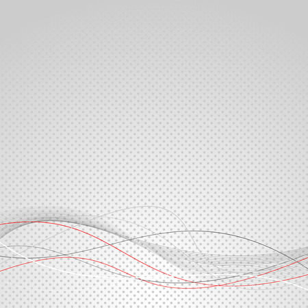 Abstract wave line modern dotted background. Vector illustration 向量圖像