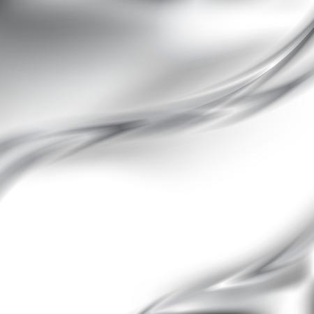 Abstracte metalen zilveren rand achtergrond sjabloon in moderne stijl. Vector illustratie