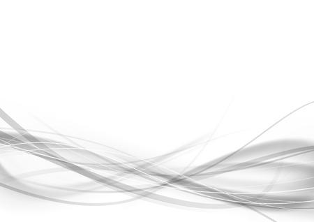 된 swoosh 속도 라인 추상 현대 투명 회색 인증서 디자인. 벡터 일러스트 레이 션 일러스트