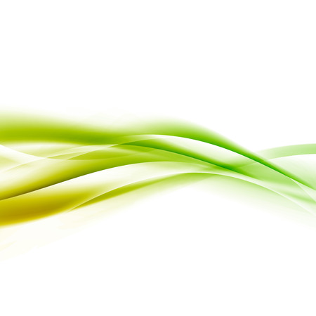 swoosh: Bright green speed swoosh line abstract modern layout. Vector illustration