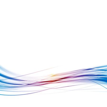 speed line: Astratta layout di flusso linea velocit� dell'onda di velocit� hi-tech sfondo moderno. Illustrazione vettoriale