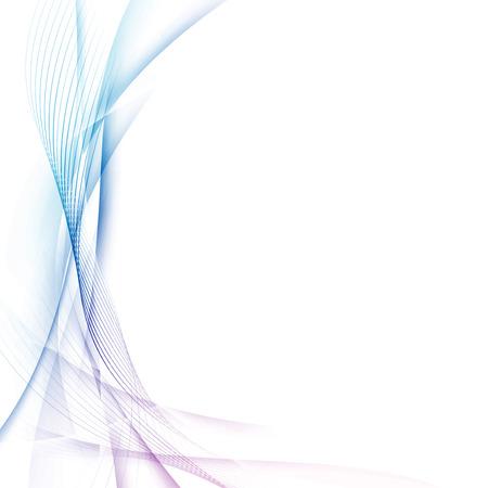 Certificado abstracta futurista swoosh alta tecnología moderna. Ilustración vectorial Ilustración de vector