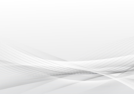 Swoosh futuristic soft line modern layout background. Vector illustration  イラスト・ベクター素材