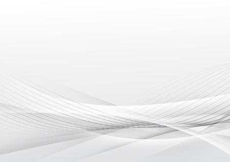 Swoosh futuristic soft line modern layout background. Vector illustration Vectores