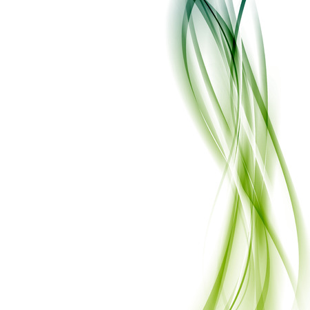 the womanly: Modern green abstract line background template vertical certificate layout.