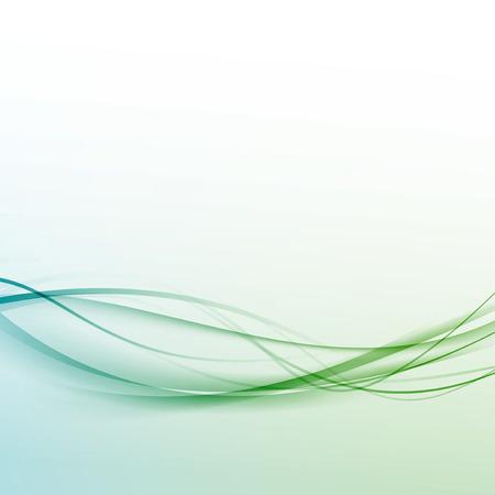 Transparent abstract hi-tech modern background.  Illustration