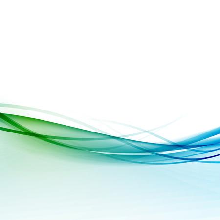 Contemporary hi-tech blue border background. Illustration