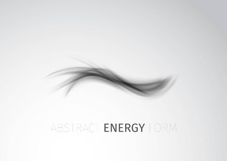 fumes: Abstract modern energy form trace background.