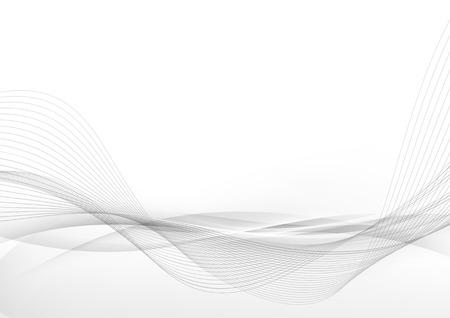 Elegant abstract smooth swoosh speed gray wave modern stream background.