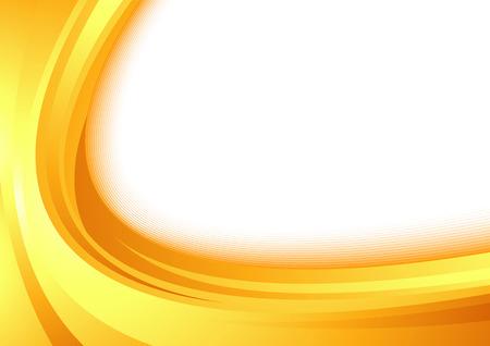 Modern orange border swoosh wave certificate abstract speed orange modern document layout. Vector illustration
