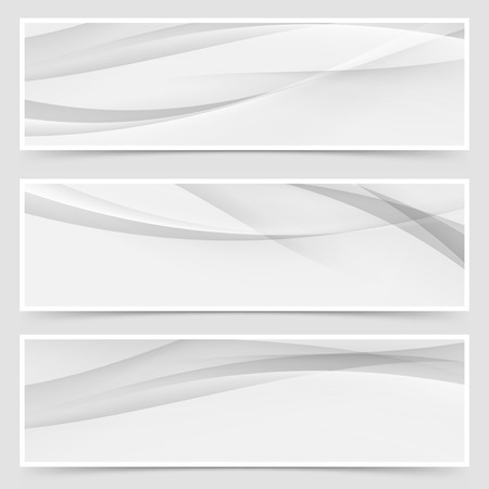 Halftone grey abstract line header layout. Vector illustration