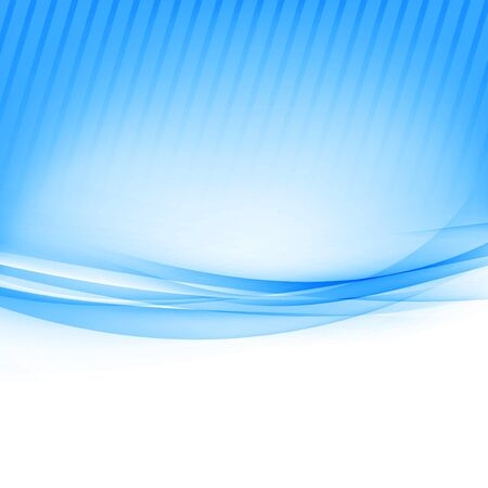 wave abstract: Blue border abstract wave soft background. Vector illustration