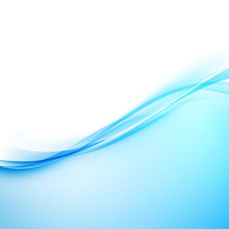 Blue modern hi-tech border abstract design. Vector illustration