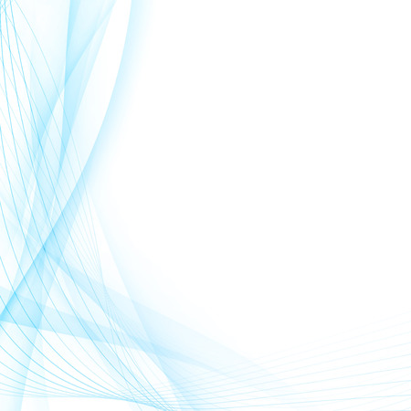 clean: Modern abstract blue swoosh line certificate gradient abstract futuristic hi-tech design wave layout.  Illustration