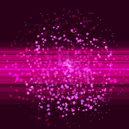 computer clubs: Pink glitter abstract club background. Illustration