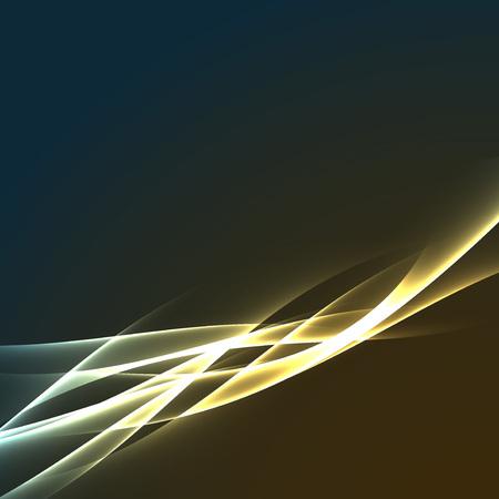 high beams: Speed lightning electric flash motion abstract modern futuristic streak swoosh rapid wave. Vector illustration Illustration