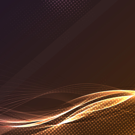 high beams: Speed energy swoosh wave dynamic line abstract background particle layout. Vector illustration
