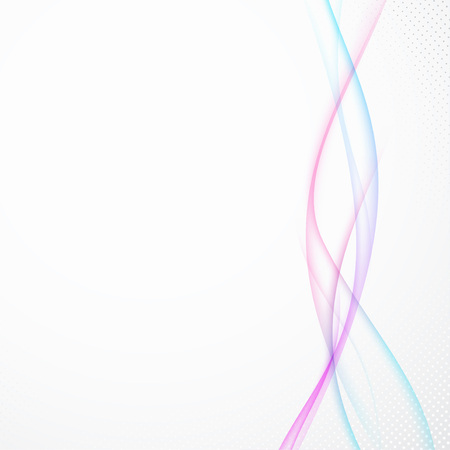 Two futuristic motion swoosh wave lines intersection. Vector illustration