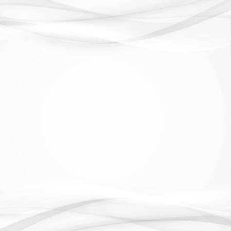 Modern grey soft futuristic smooth curves layout. Swoosh fashion halftone elegant smoke border background card.