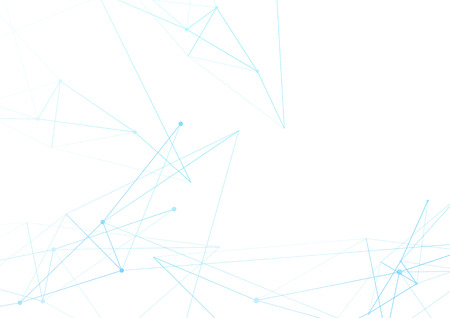 Minimal sharp angle connection lines modern background template. Vector illustration