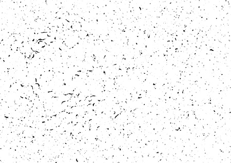 Black white dirty graphic ready to apply noisy grungy texture. Vector illustration
