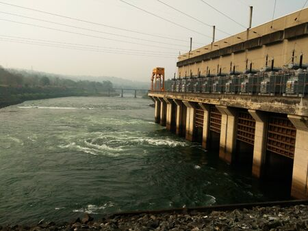 hydroelectric: Hydroelectric power plant in Thailand