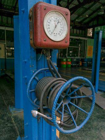 air pump: Air pump Stock Photo