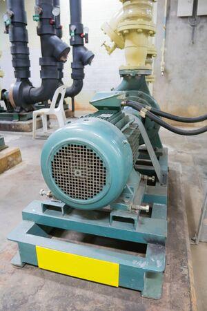 Blur,  Motor pump in the factory Stok Fotoğraf