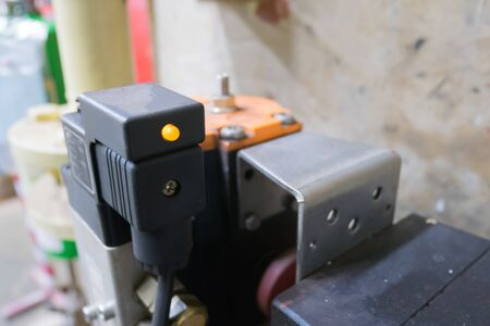 Control device Turn on-off wind by electric