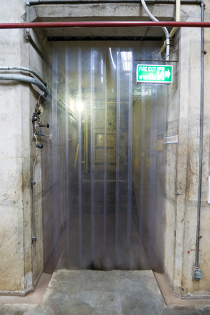 Soft focus,Water pipe tunnel entrance